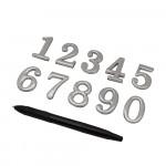 Дверная фурнитура BRAVO цифры для межкомнатных дверей