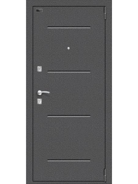 Porta R 104.П21, цвет: Антик Серебро/Light Sonoma
