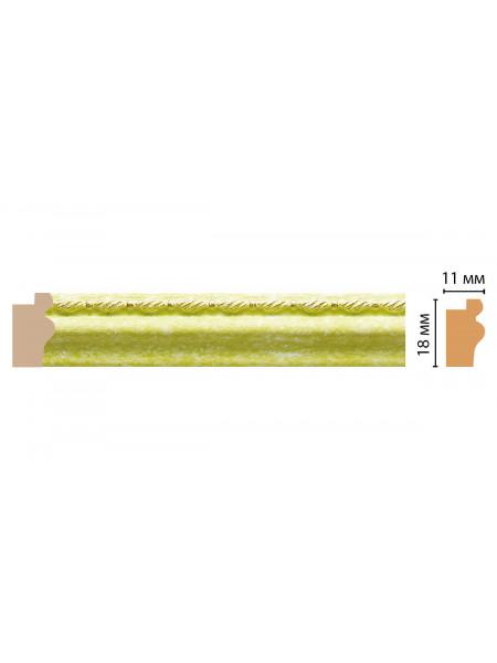 Багет DECOMASTER 119-37 (18*11*2400мм)
