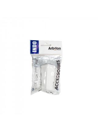 Угол наружный для плинтуса Arbiton Indo 01 Белый Блеск