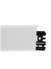 Плинтус пластиковый с кабель-каналом Arbiton Indo 40 Белый Матовый 70х26, 1 м.п.