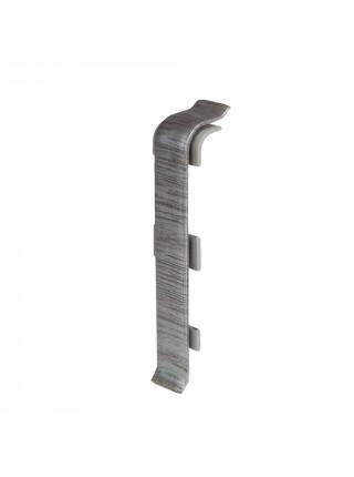 Соединитель для плинтуса Arbiton Indo 17 Алюминиум