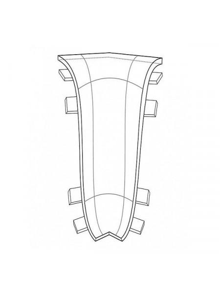 Угол внутренний для плинтуса Arbiton Indo 03 Дуб Лофт