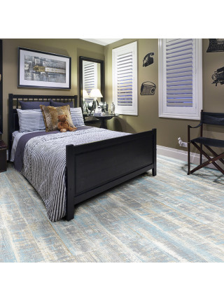 Пробковое покрытие CorkStyle (Коркстайл) Wood XL Color Lazurit Blue замковое
