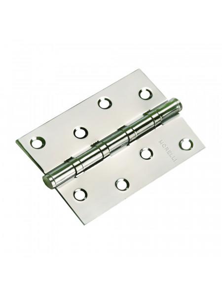 Петля стальная универсальная Morelli MS 100X70X2.5-4BB SC матовый хром