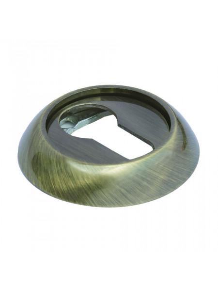 Накладка на ключевой цилиндр Morelli MH-KH SG/GP матовое золото/золото