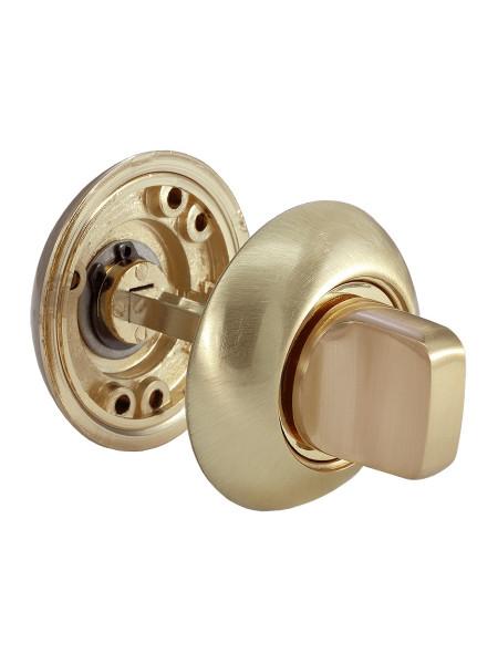 Завертка сантехническая Morelli MH-WC SG/GP матовое золото/золото