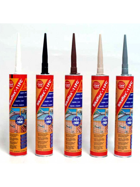Клей-герметик Sikaflex-11FC (Sika flex 11FC) 300мл (0,384кг) бежевый
