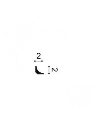 Плинтус из дюрополимера Orac (Орак) CX133 20х20, 1 м.п.