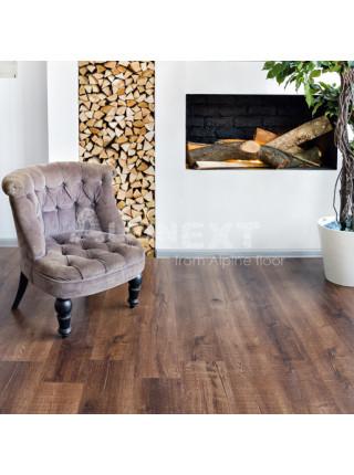 Каменно-полимерный ламинат (ПВХ) Alpine Floor Real Wood ECO 2-2 Дуб Мокка