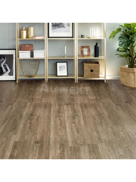 Кварц-виниловый ламинат (ПВХ) Alpine Floor Sequoia ECO 6-12 Секвойя Темная