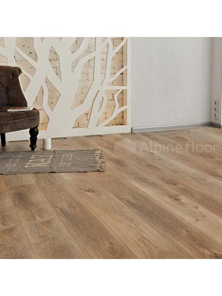 Кварц-виниловый ламинат (ПВХ) Alpine Floor Premium XL ECO 7-6 Дуб Природный Изысканный