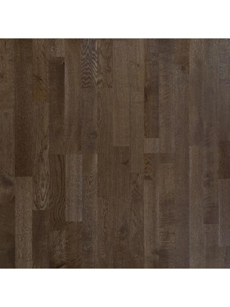 Паркетная доска Amber Wood (Амбер Вуд) Дуб Бурбон трехполосная