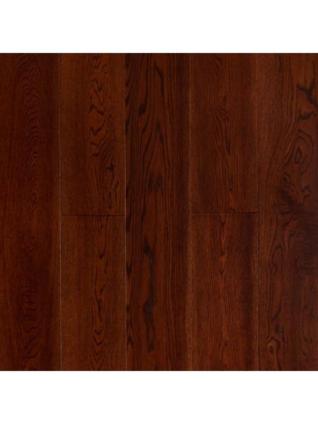 Массивная доска Amber Wood (Амбер Вуд) Дуб Шоколад браш