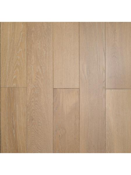 Массивная доска Amber Wood (Амбер Вуд) Дуб Ваниль браш