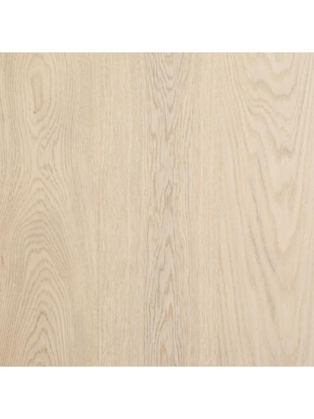 Паркетная доска Befag (Бефаг) Дуб Натур, белый лак однополосная