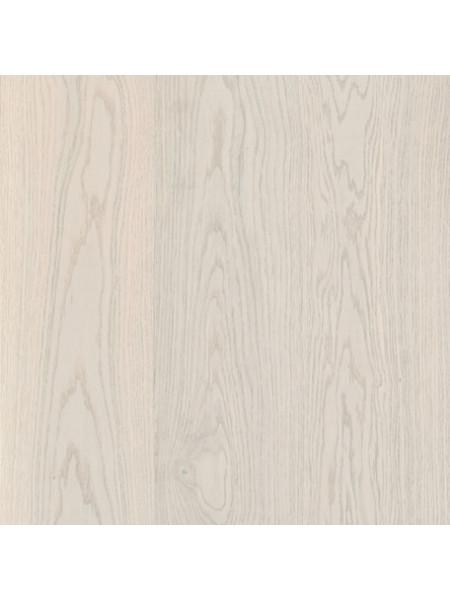 Паркетная доска Befag (Бефаг) Дуб Натур, жемчужно-белый однополосная