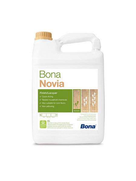 Лак Bona (Бона) Novia (Новиа) 1K мат. 10л