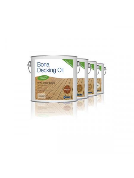 Масло Bona (Бона) Decking Oil (Декинг Ойл) 1K для наружных работ Grey (Серый) 2,5л