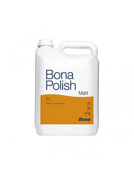 Средство по уходу Bona (Бона) Polish Matt (Полиш матовый) 5л