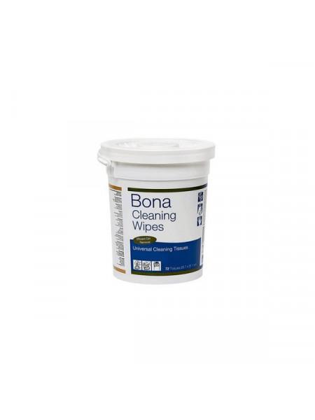 Салфетки чистящие Bona (Бона) Cleaning Wipes (Клининг Вайпс)