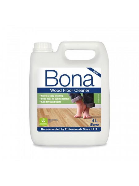 Средство по уходу Bona (Бона) Wood Floor Cleaner (Вуд флор клинер) 4л