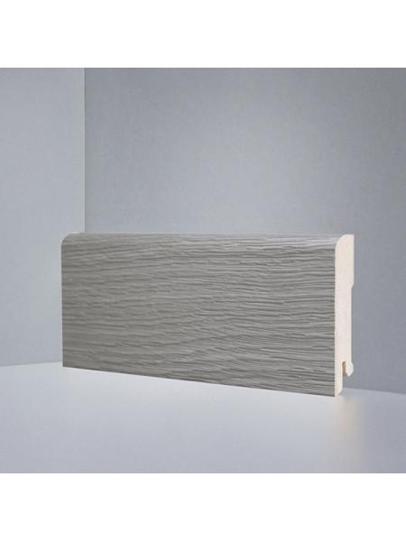 Плинтус Deartio (Деартио) B202-08 МДФ цветной прямой Дуб серый браш 2050х80х16