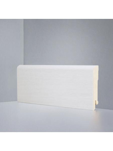 Плинтус Deartio (Деартио) B202-11 МДФ цветной прямой Дуб беленый 80х16, 1 м.п.