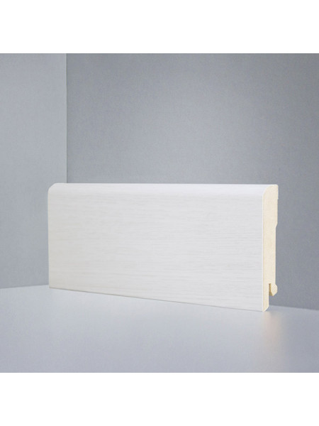 Плинтус Deartio (Деартио) B202-11 МДФ цветной прямой Дуб беленый 2050х80х16