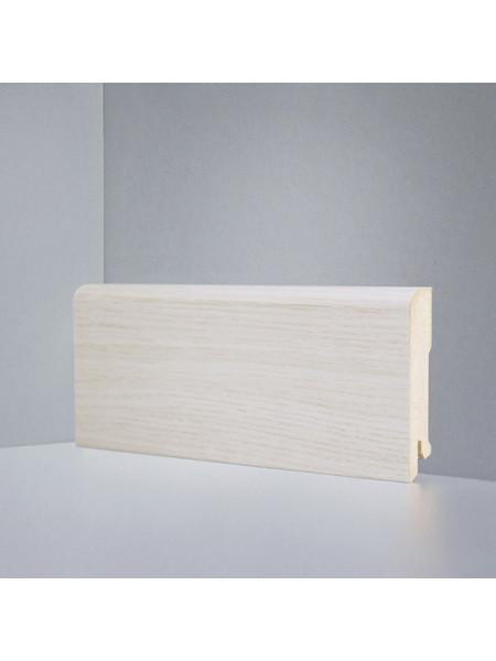 Плинтус Deartio (Деартио) B202-12 МДФ цветной прямой Дуб осветленный 80х16, 1 м.п.