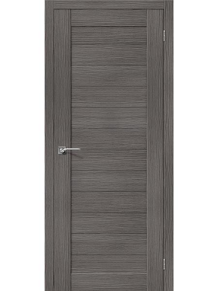 Межкомнатная дверь el'PORTA (Эль Порта) 3D-Graf Porta X Порта-21 Grey, полотно