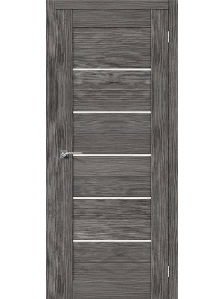 Межкомнатная дверь el'PORTA (Эль Порта) 3D-Graf Porta X Порта-22 Grey Magic Fog, полотно