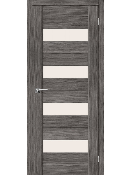Межкомнатная дверь el'PORTA (Эль Порта) 3D-Graf Porta X Порта-23 Grey Magic Fog, полотно