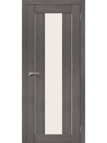 Межкомнатная дверь el'PORTA (Эль Порта) 3D-Graf Porta X Порта-25 alu Grey Magic Fog, полотно