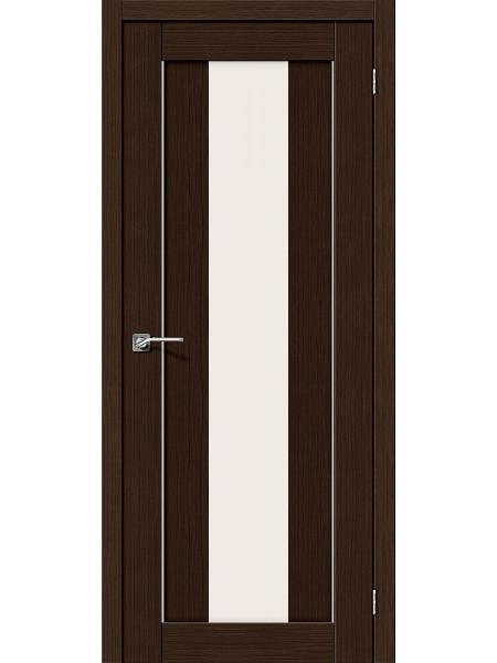 Межкомнатная дверь el'PORTA (Эль Порта) 3D-Graf Porta X Порта-25 alu Wenge Magic Fog, полотно