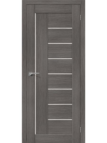 Межкомнатная дверь el'PORTA (Эль Порта) 3D-Graf Porta X Порта-29 Grey Magic Fog, полотно