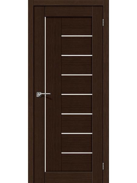 Межкомнатная дверь el'PORTA (Эль Порта) 3D-Graf Porta X Порта-29 Wenge Magic Fog, полотно