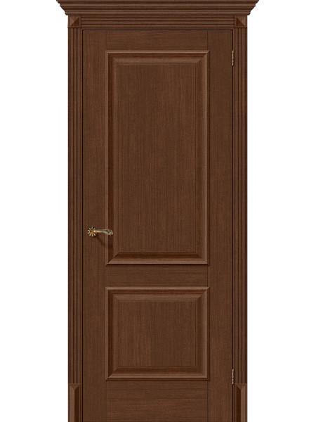 Межкомнатная дверь el'PORTA (Эль Порта) Classico S евро шпон Классико-12 Brown Oak, полотно