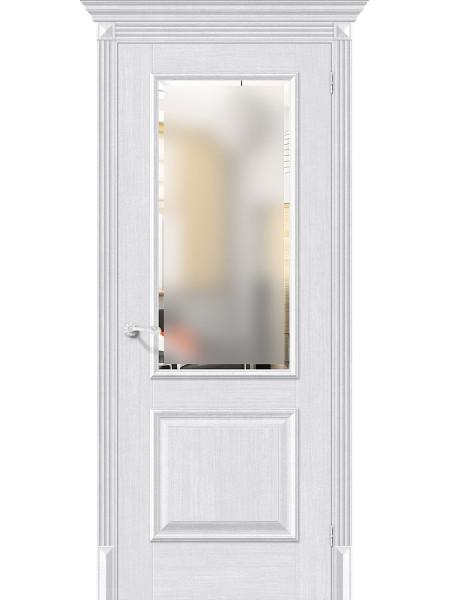 Межкомнатная дверь el'PORTA (Эль Порта) Classico S евро шпон Классико-13 Milk Oak СТ-Magic Fog, полотно