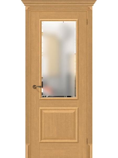Межкомнатная дверь el'PORTA (Эль Порта) Classico S евро шпон Классико-13 Real Oak СТ-Magic Fog, полотно