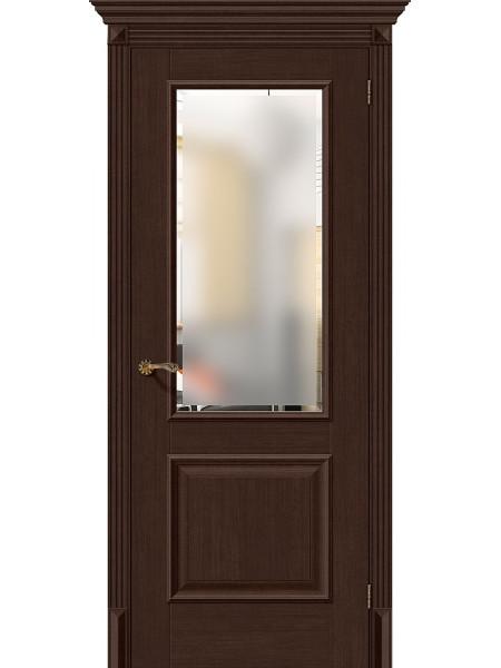 Межкомнатная дверь el'PORTA (Эль Порта) Classico S евро шпон Классико-13 Thermo Oak СТ-Magic Fog, полотно