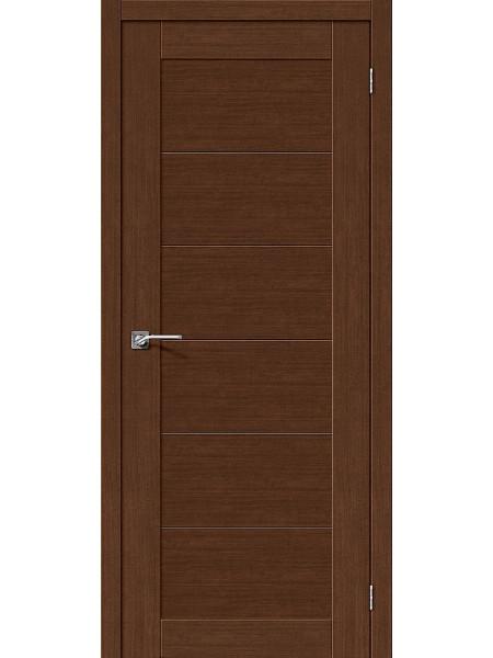 Межкомнатная дверь el'PORTA (Эль Порта) Legno евро шпон Легно-21 Brown Oak, полотно