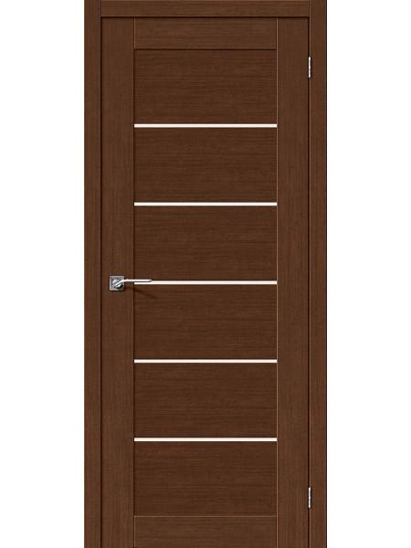 Межкомнатная дверь el'PORTA (Эль Порта) Legno евро шпон Легно-22 Brown Oak СТ-Magic Fog, полотно