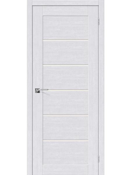 Межкомнатная дверь el'PORTA (Эль Порта) Legno евро шпон Легно-22 Milk Oak СТ-Magic Fog, полотно