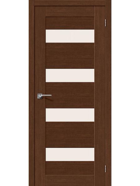 Межкомнатная дверь el'PORTA (Эль Порта) Legno евро шпон Легно-23 Brown Oak СТ-Magic Fog, полотно