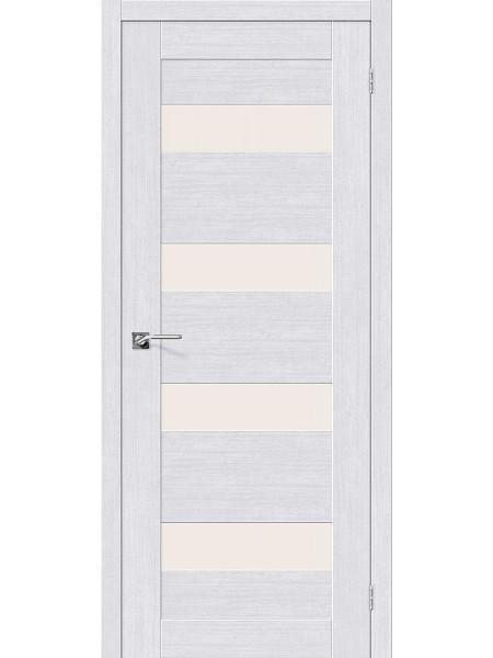 Межкомнатная дверь el'PORTA (Эль Порта) Legno евро шпон Легно-23 Milk Oak СТ-Magic Fog, полотно