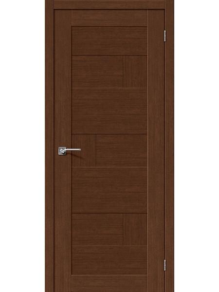 Межкомнатная дверь el'PORTA (Эль Порта) Legno евро шпон Легно-38 Brown Oak, полотно
