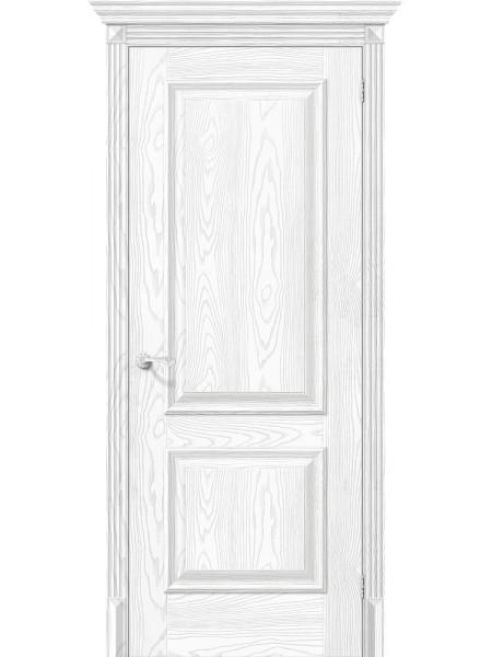 Межкомнатная дверь el'PORTA (Эль Порта) Classico S эко шпон Классико-12 Silver Ash, полотно