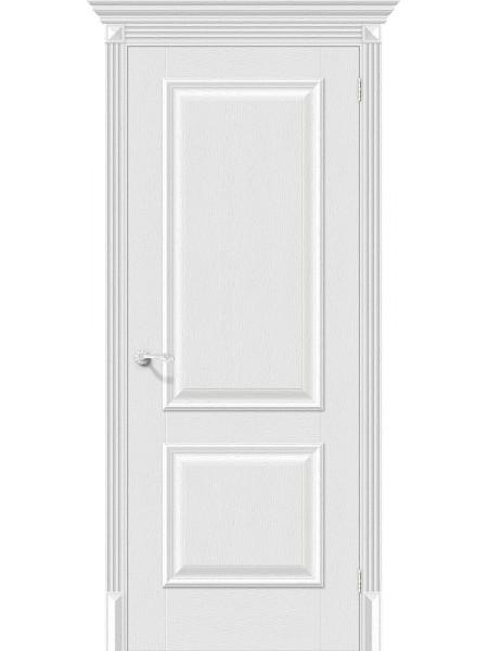 Межкомнатная дверь el'PORTA (Эль Порта) Classico S эко шпон Классико-12 Virgin, полотно