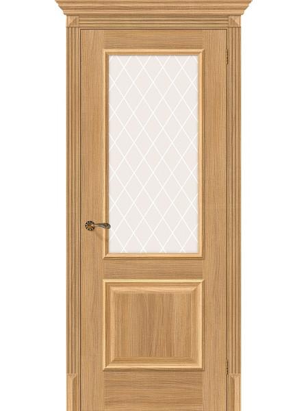 Межкомнатная дверь el'PORTA (Эль Порта) Classico S эко шпон Классико-13 Anegri Veralinga White Crystal, полотно